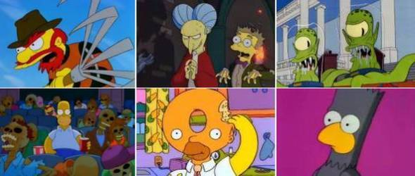 The Simpsons Unsere Liebsten Halloween Episoden