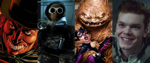 gotham alle batman schurken der ersten 2 staffeln. Black Bedroom Furniture Sets. Home Design Ideas