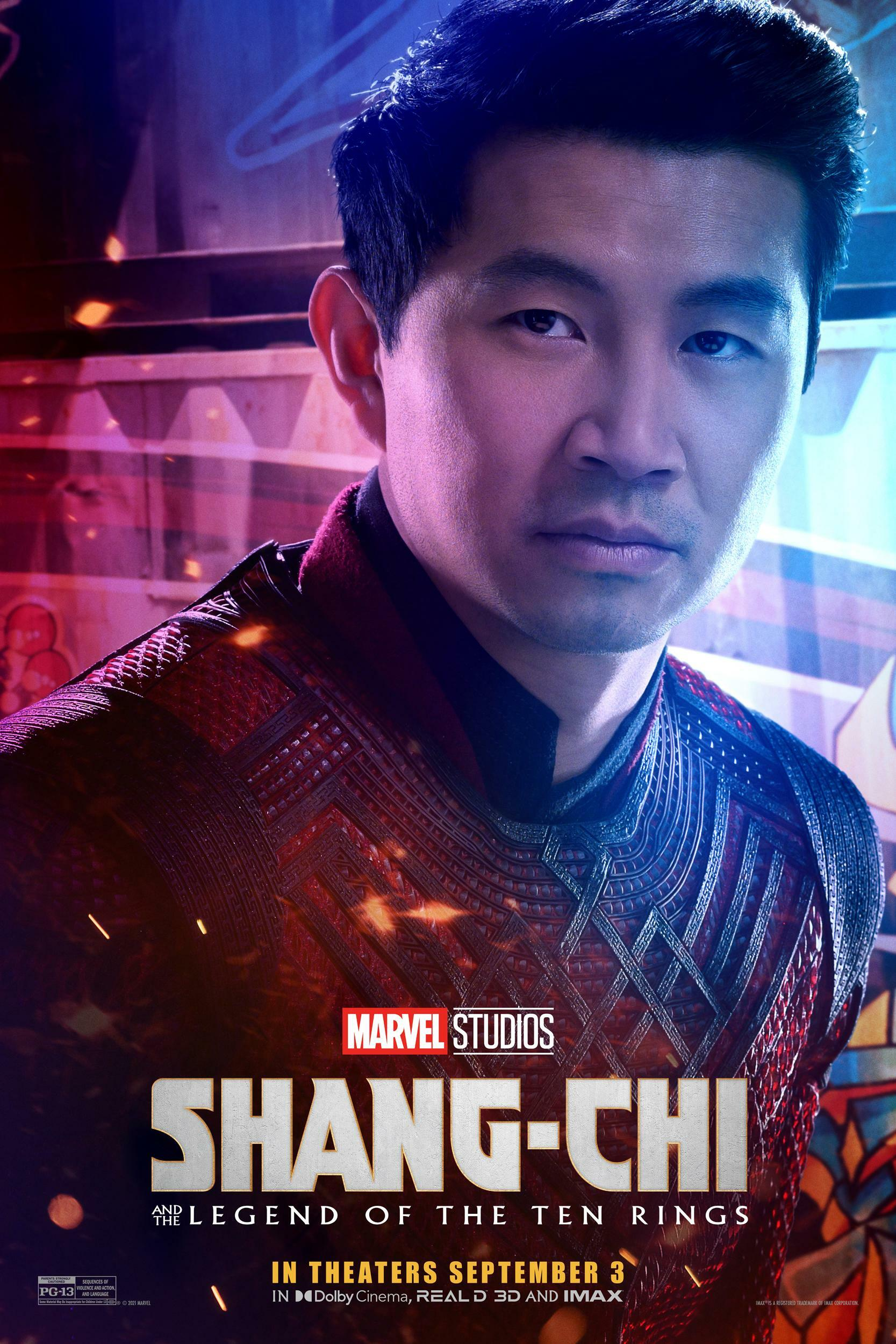 Shang Chi And The Legend Of The Ten Rings Charakterposter Zum Marvel Film
