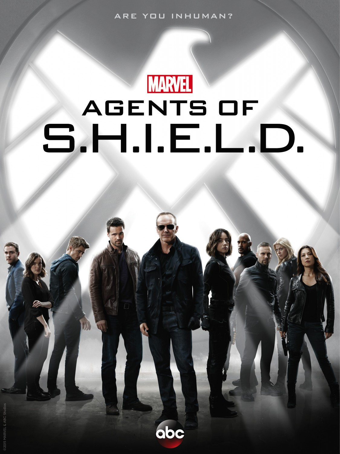 Agents of S.H.I.E.L.D.: Poster zur 3. Staffel