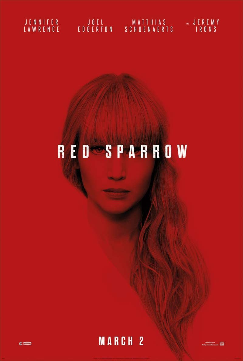 Red Sparrow: Trailer zum neuen Film mit Jennifer Lawrence